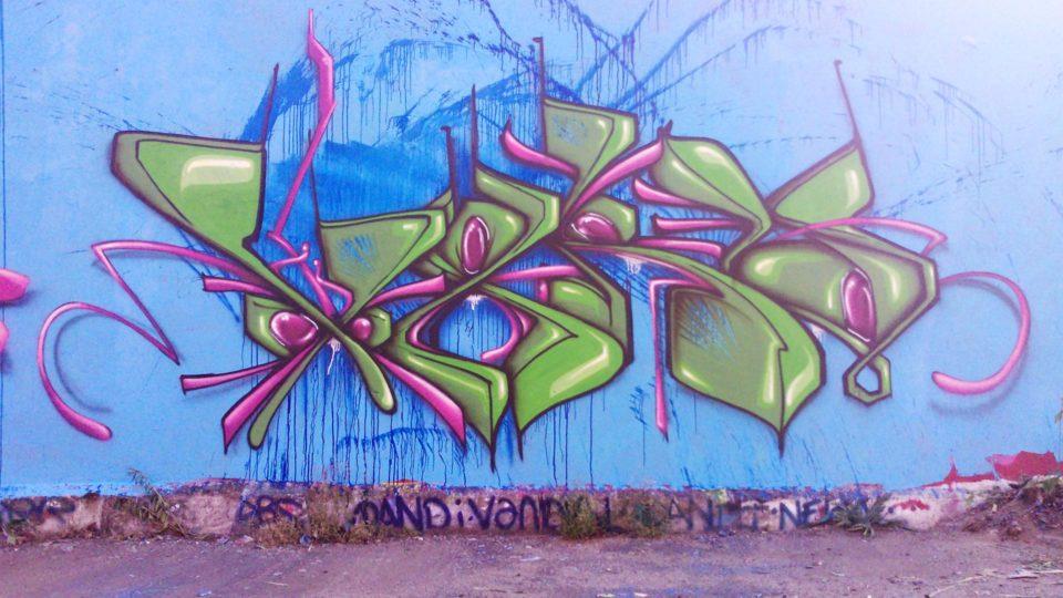 Waro - Graffiti - Clermont-Ferrand  - ENSACF