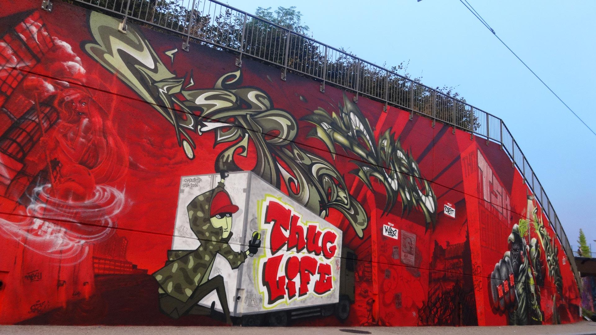 Waro, Deft & Epok - Graffiti - Clermont Urban Graff