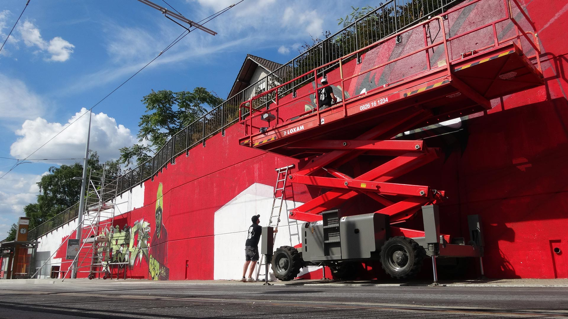 Clermont Urban Graff - Trans'urbaines - Clermont-Ferrand