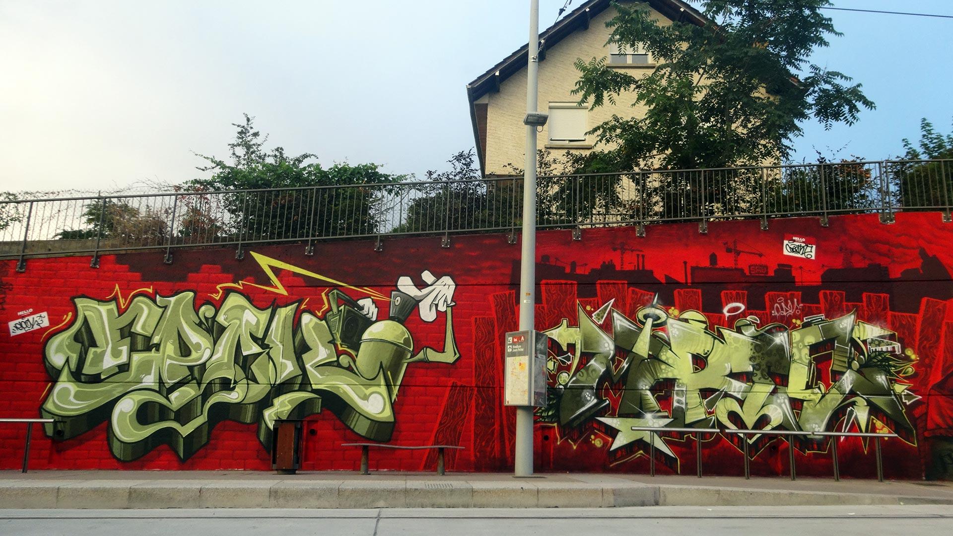 Epok & Marthe  - Clermont Urban Graff - Trans'urbaines