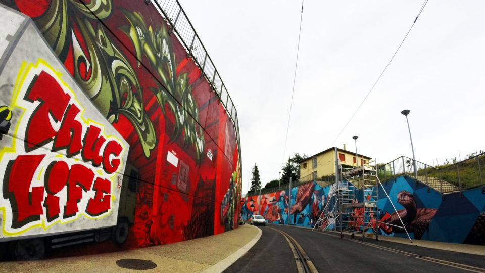 Clermont Urban Graff - Trans'urbaines