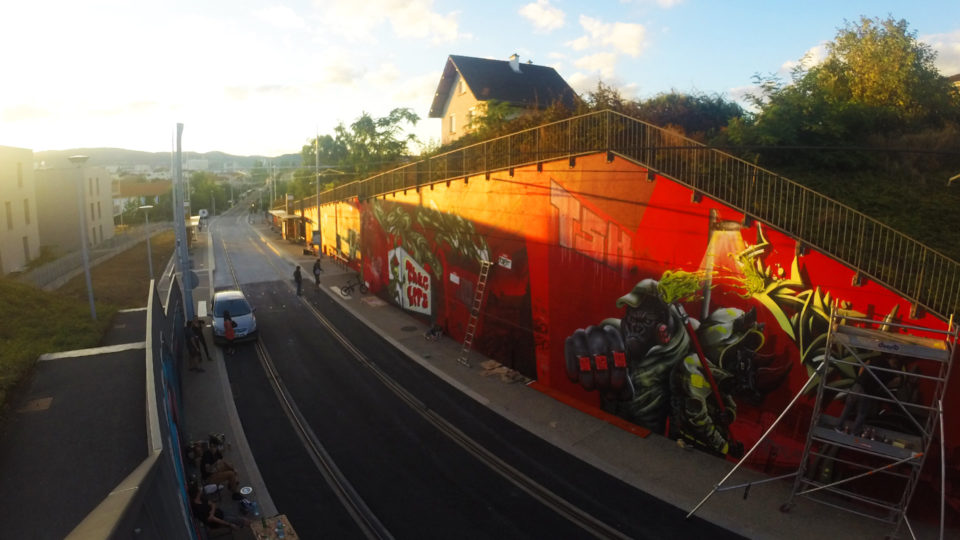Clermont Urban Graff - Trans'urbaines - Graffiti Street Art