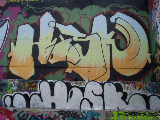 Hosk - Royat - Graffiti