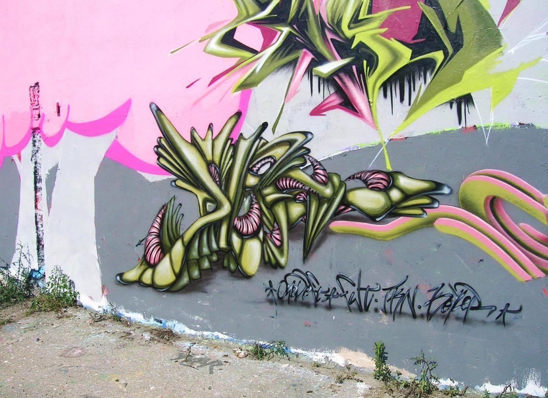 Deft - Lyon RVI - Graffiti