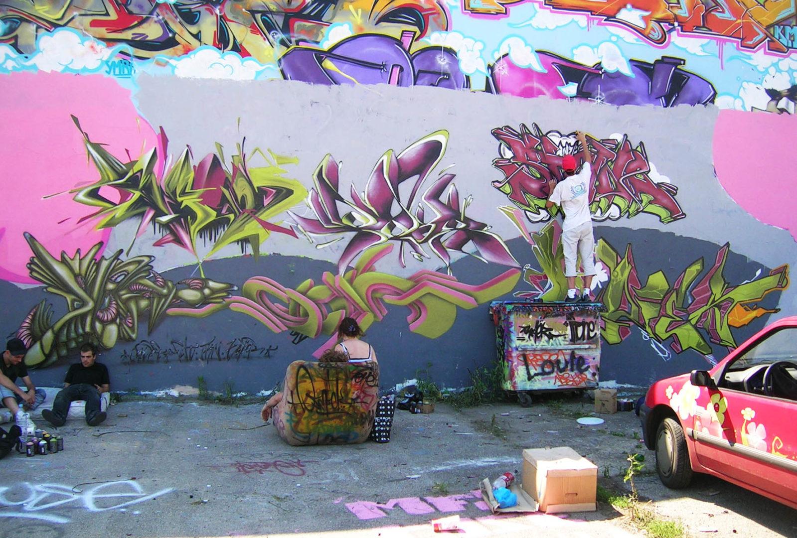 Lyon RVI - Graffiti