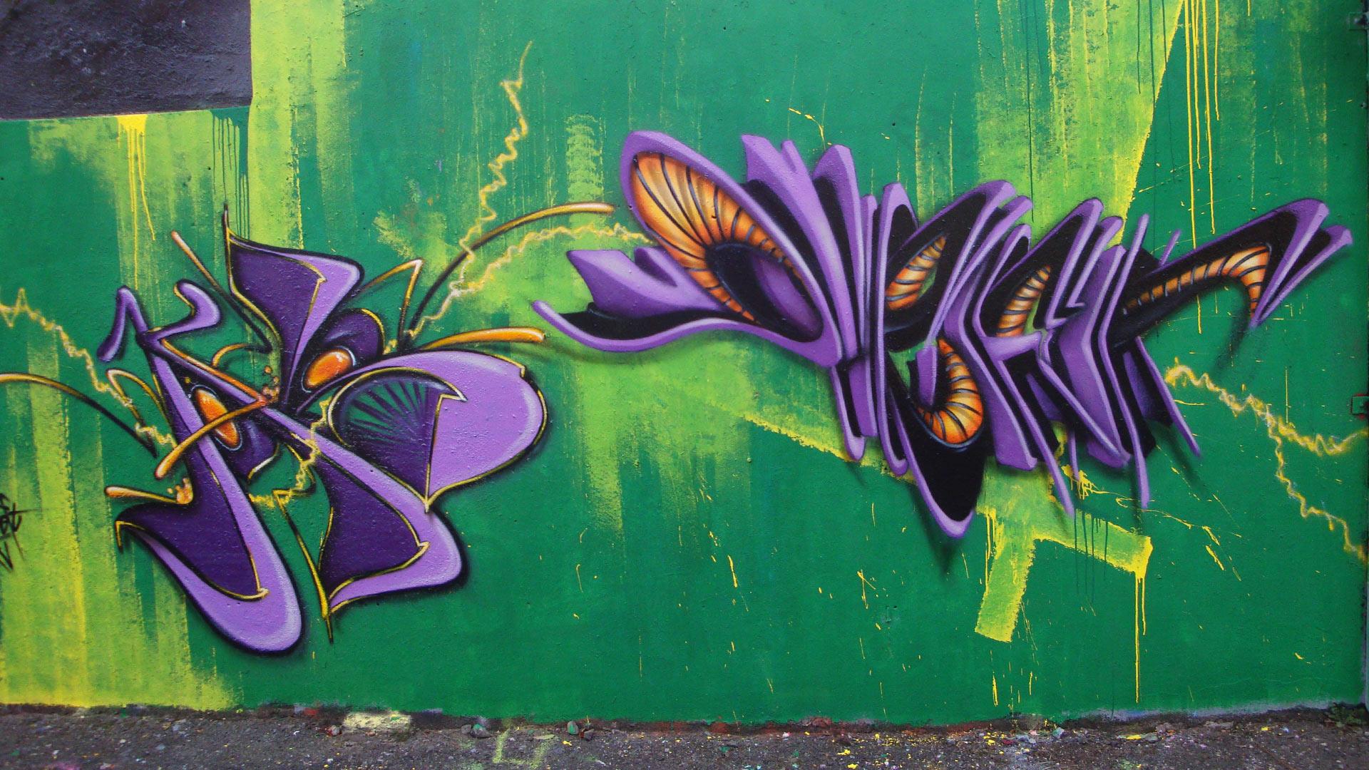 Waro & Deft - Graffiti