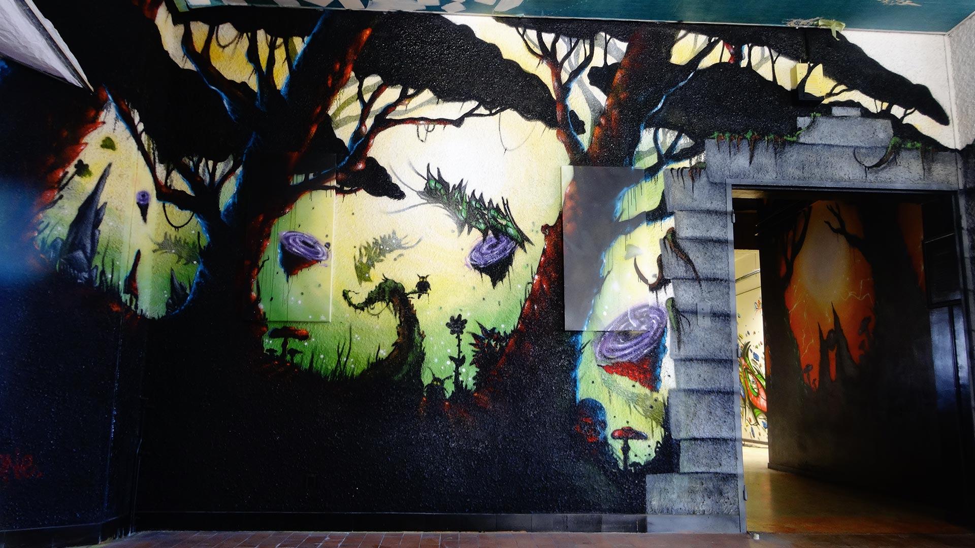 Deft - Projet  PTT - Street Art City