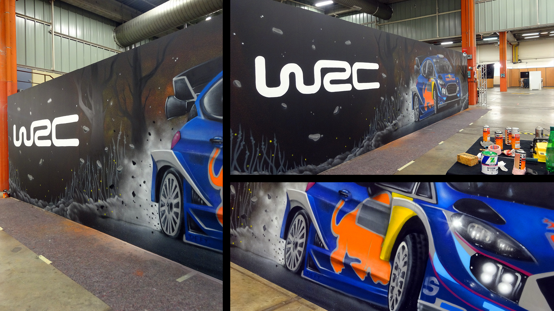 Ford Fiesta - WRC - Michelin - Graffiti
