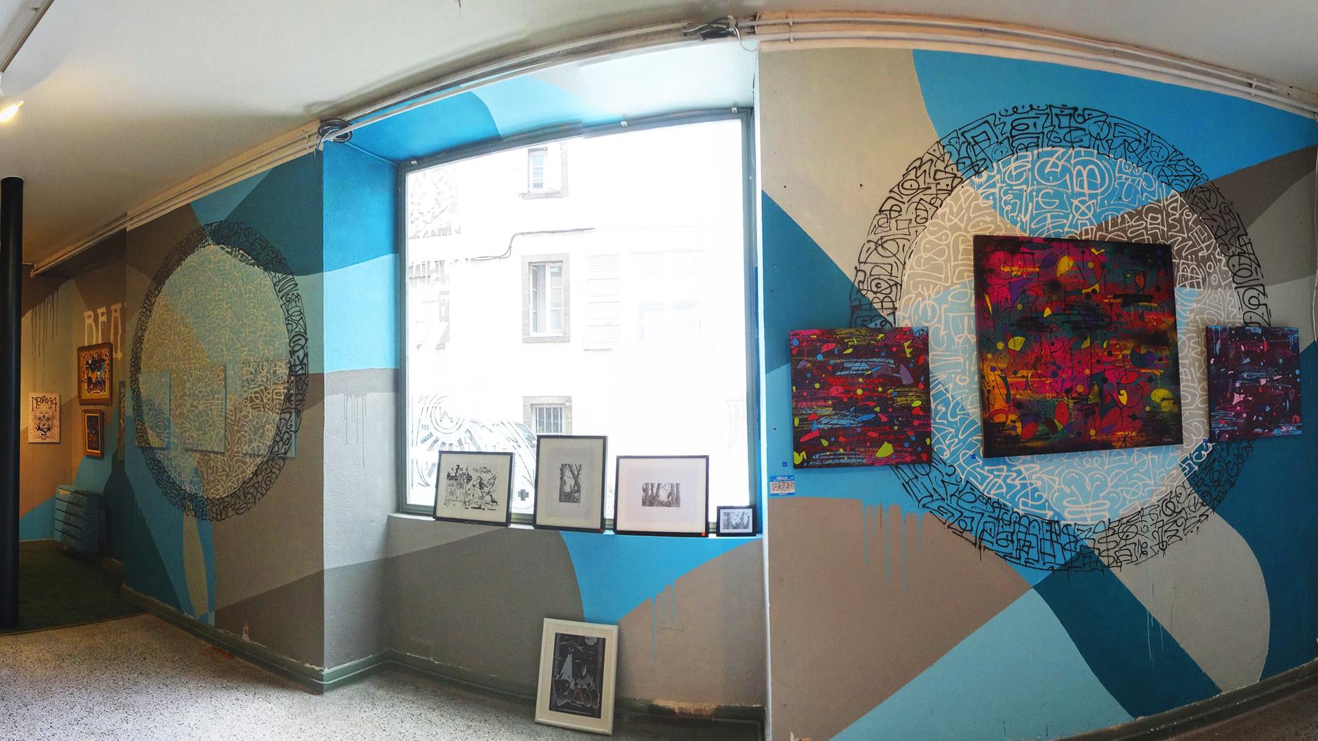 Beame 414 Exposition ENDtoEND - Street-Art - Rue Savaron Clermont-Ferrand