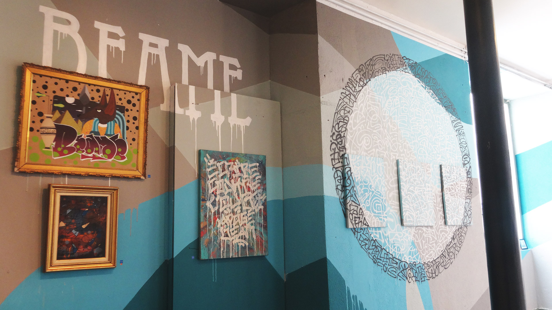 Beame 414 - Exposition ENDtoEND - Street-Art - Rue Savaron Clermont-Ferrand