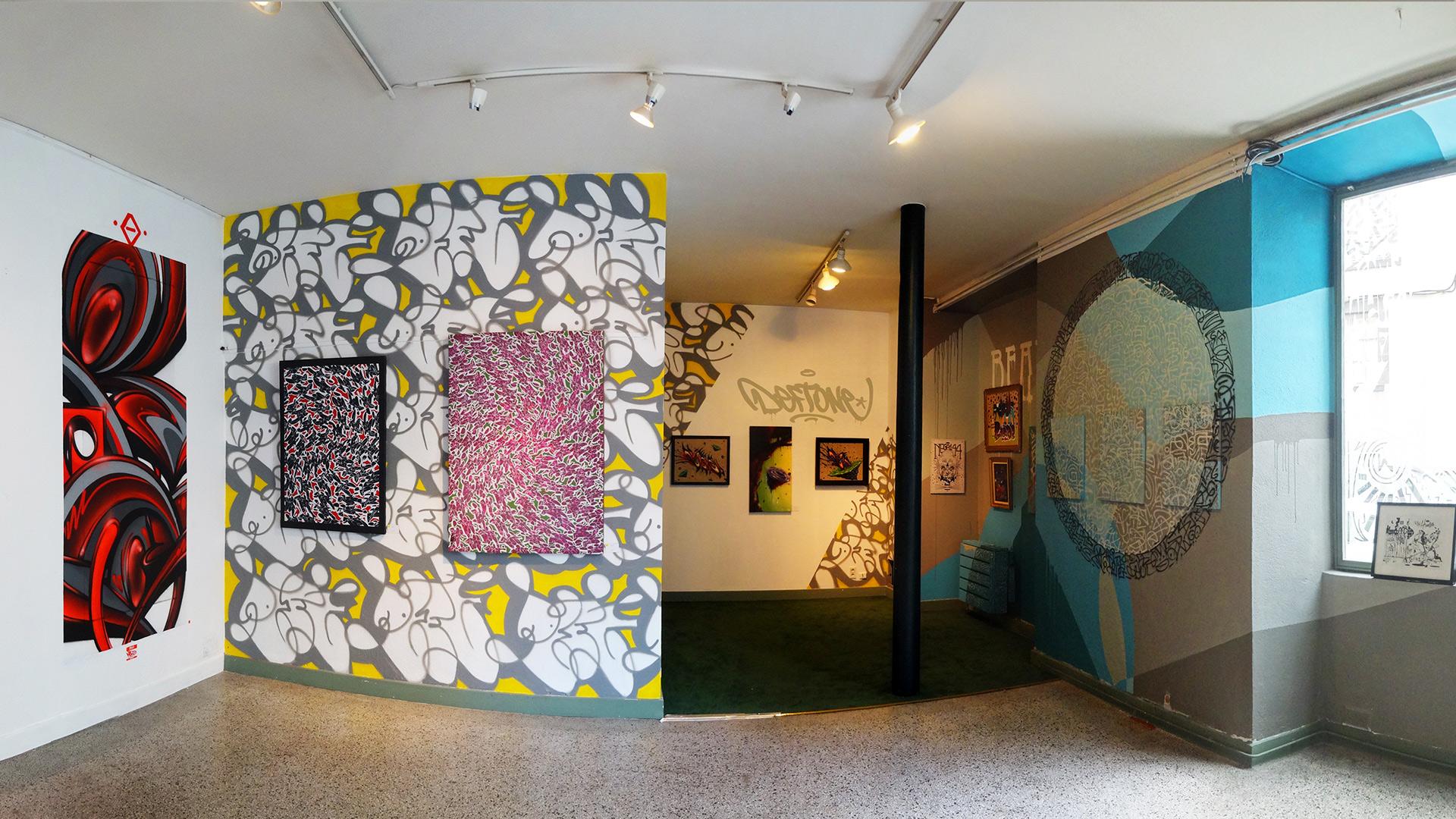Deft -Exposition ENDtoEND - Street-Art - Rue Savaron Clermont-Ferrand