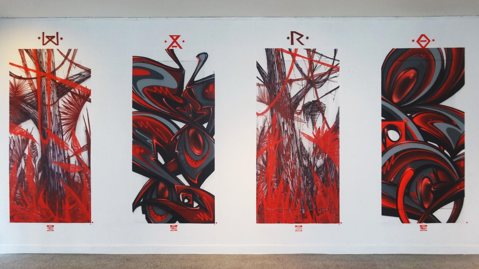 Waro - Exposition ENDtoEND - Street-Art - Rue Savaron Clermont-Ferrand
