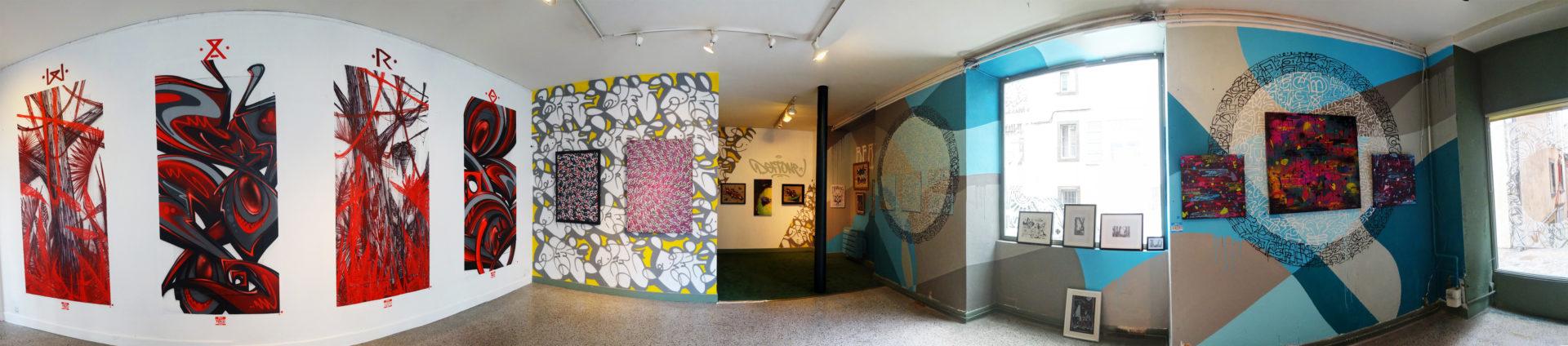 Deft - Exposition ENDtoEND - Street-Art - Rue Savaron Clermont-Ferrand