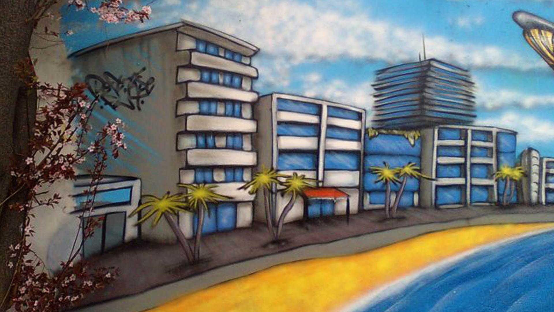 Fresque Copacabana - Deft & Tase