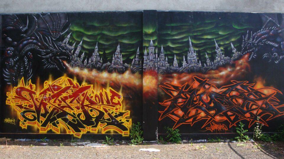fresque-graffiti-dragons-clermont-ferrand-vizer-awok-deft-epok