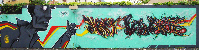 Fakie Deft Waro Tase - FWT TKN - Graffiti - Clermont Ferrand