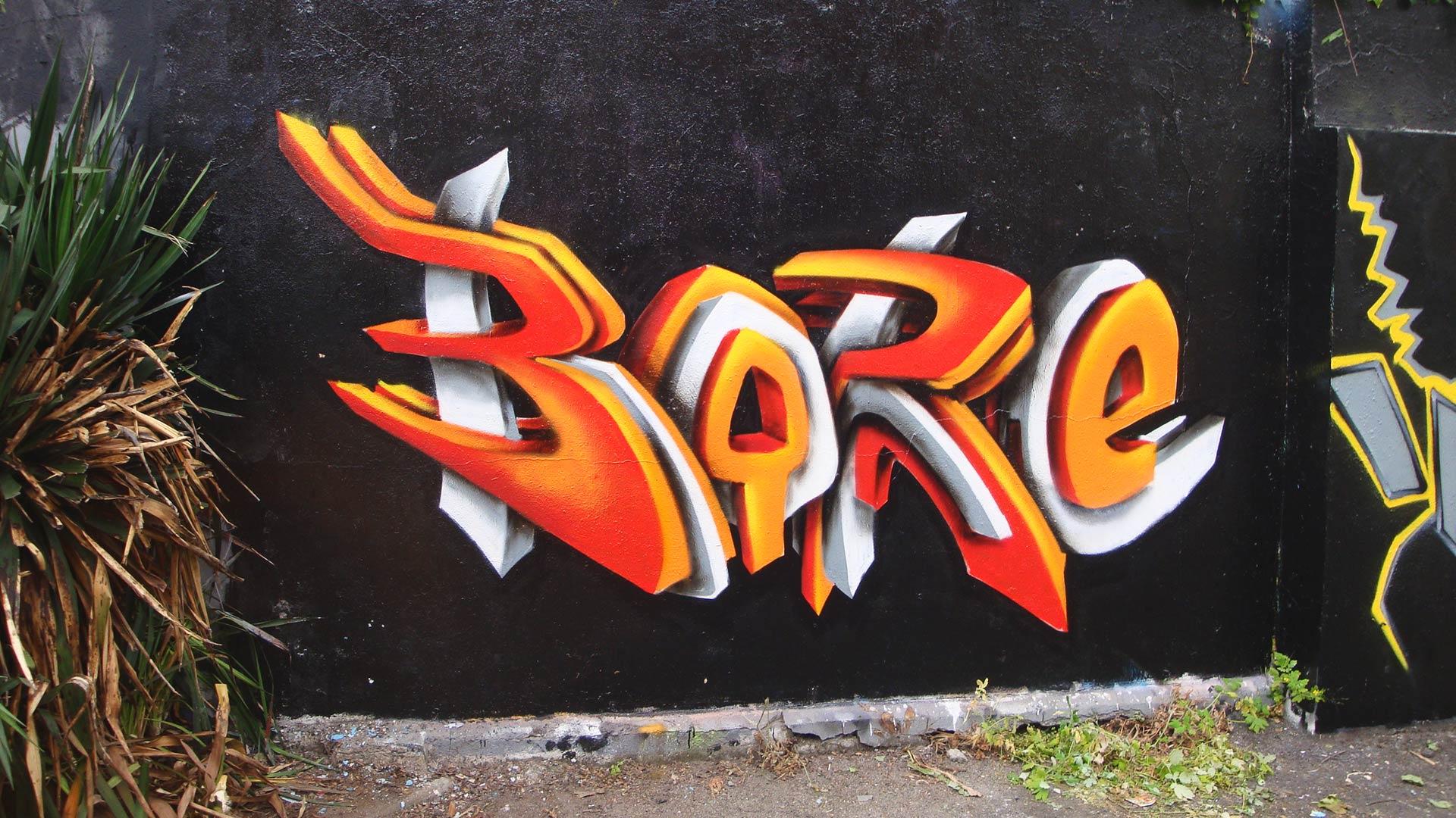 Boré  - Graffiti
