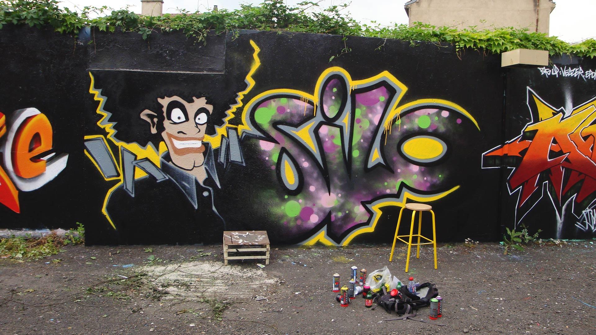 Silo - Graffiti