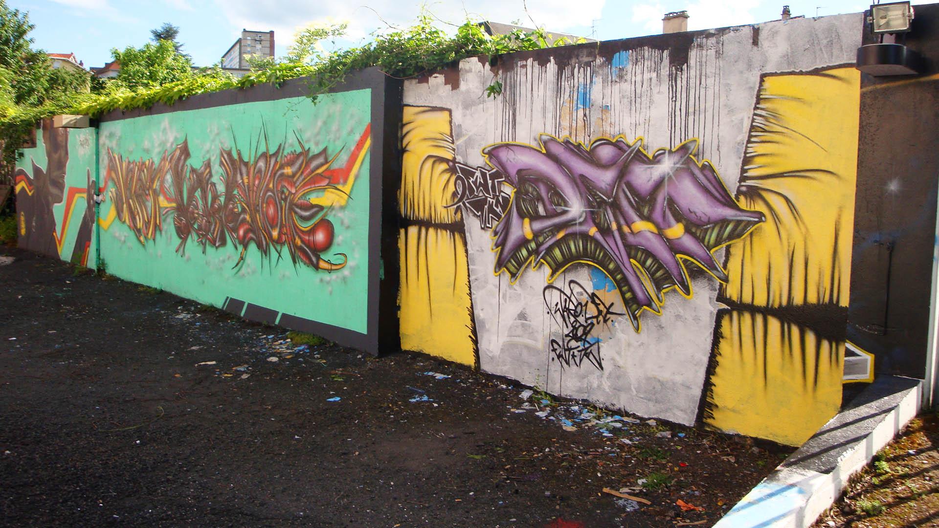 ENSACF  - Graffiti