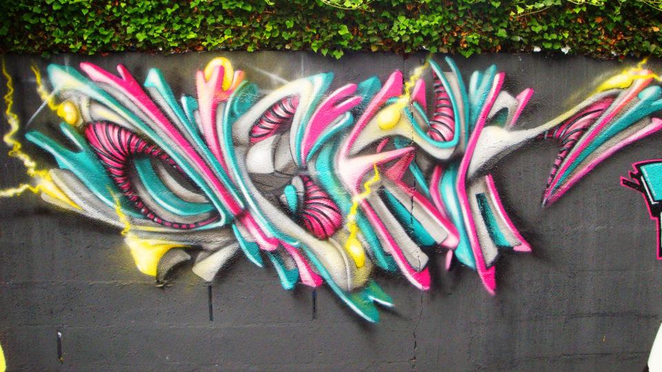 Deft - Lettrage graffiti en 3D
