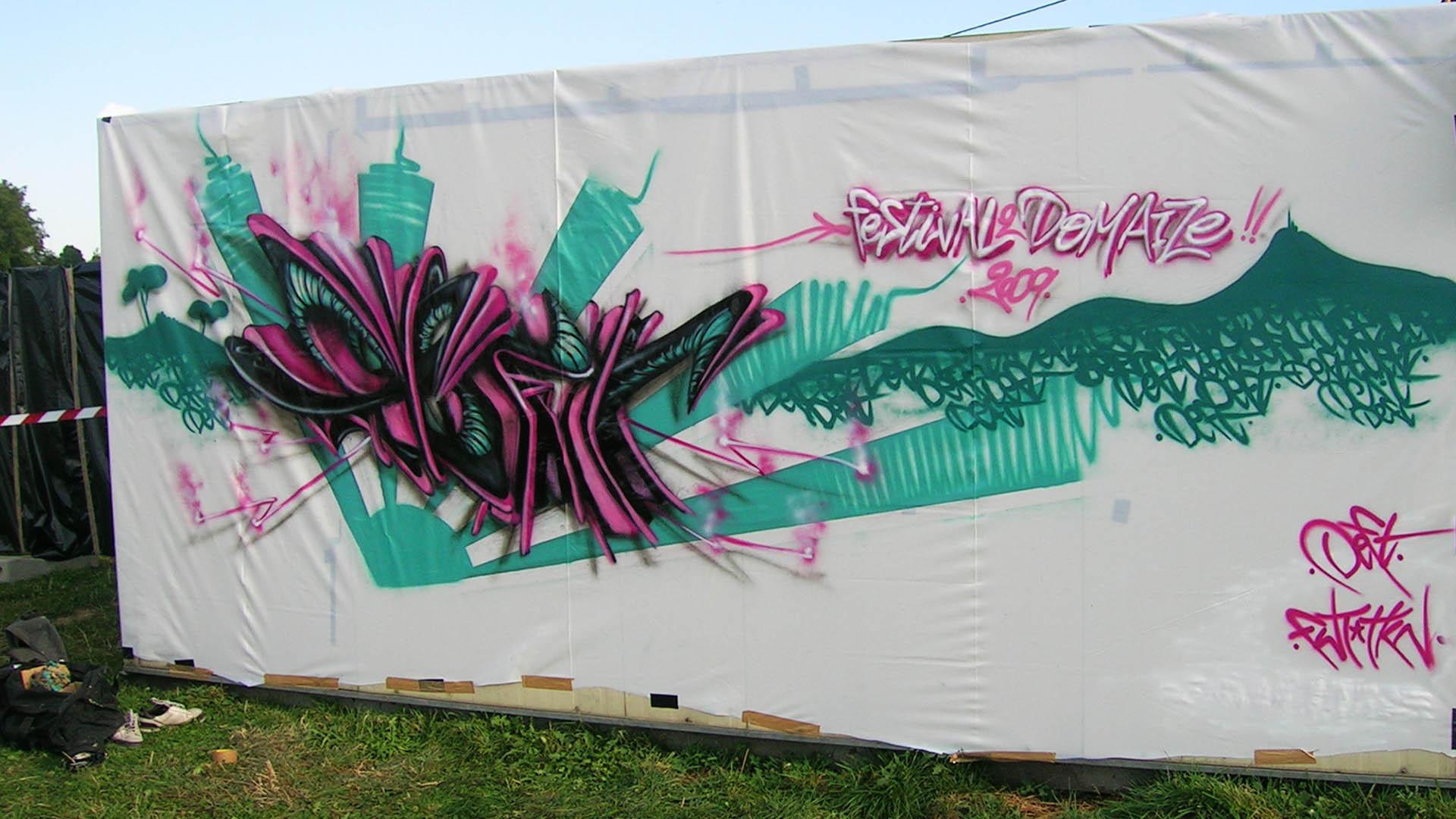 Deft - Graffiti - Festival de Domaize