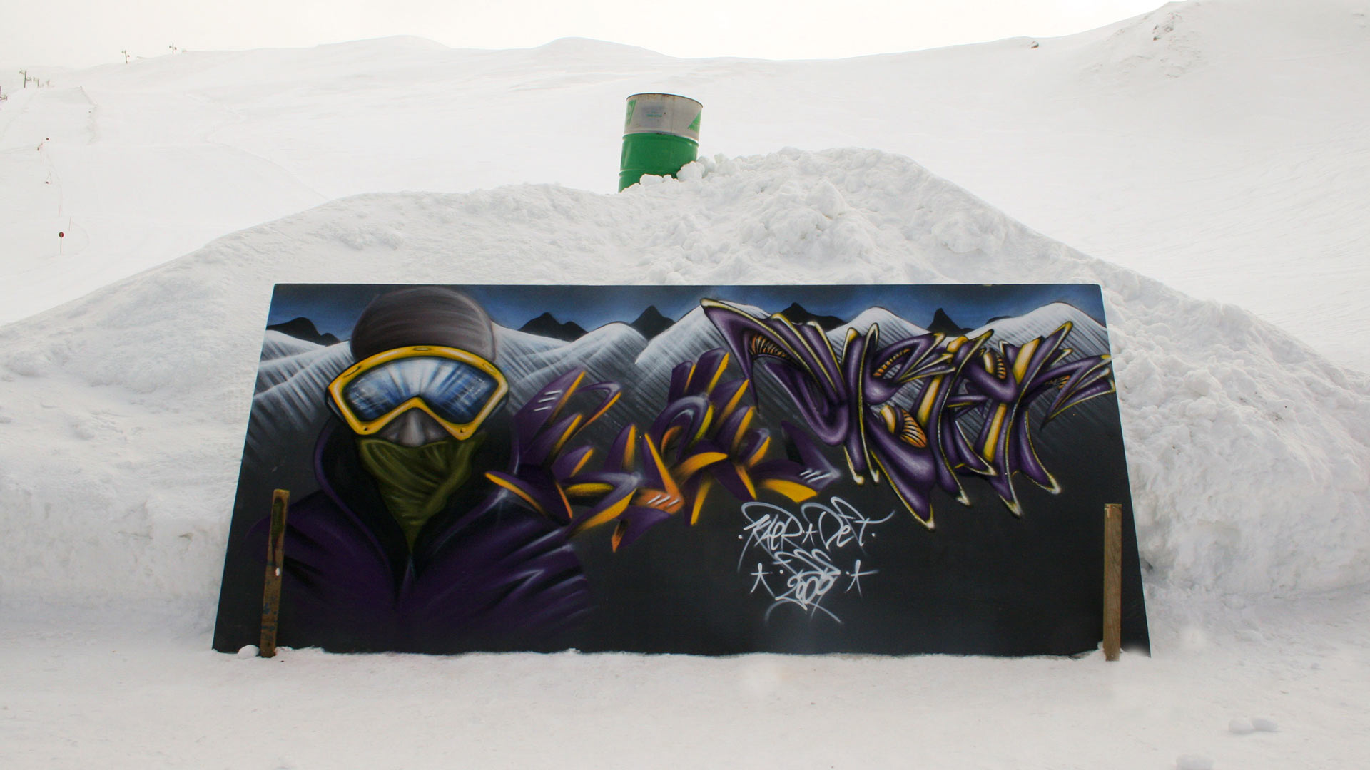 FSS - Massif du Sancy - Graffiti