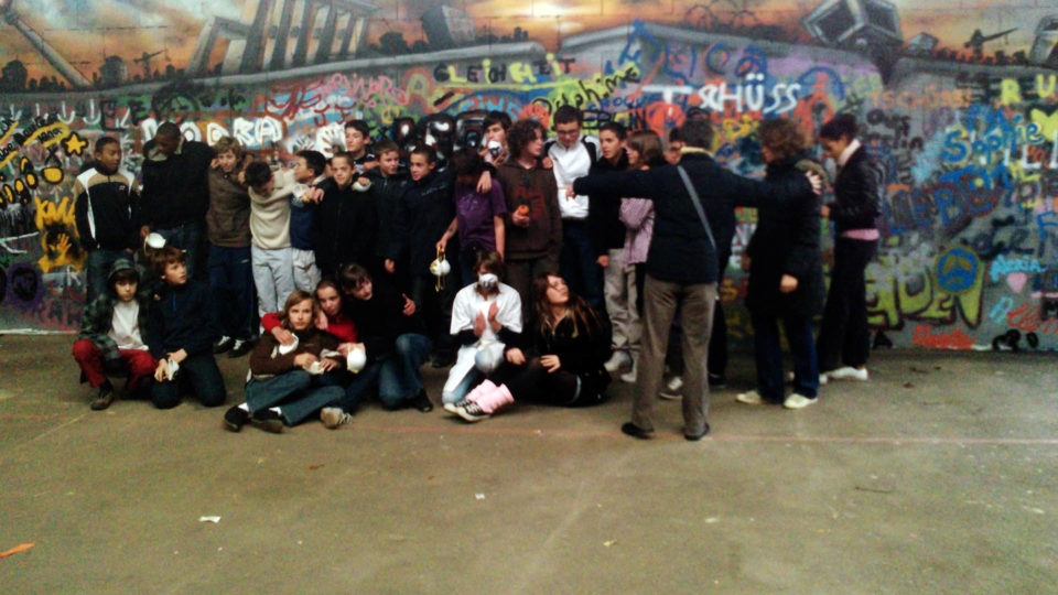 Les artistes - Fresque Mur de Berlin - Graffiti