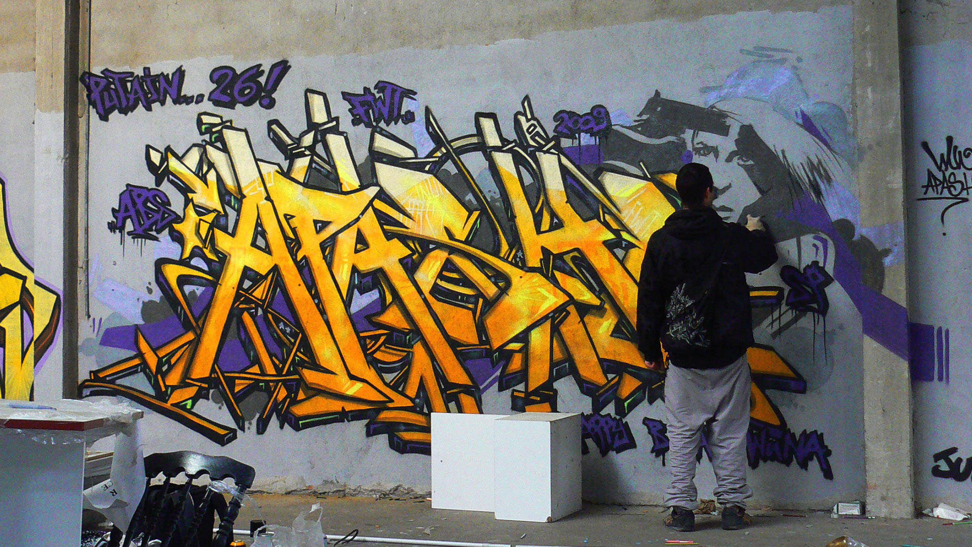 Apashe  - Graffiti - Toulouse