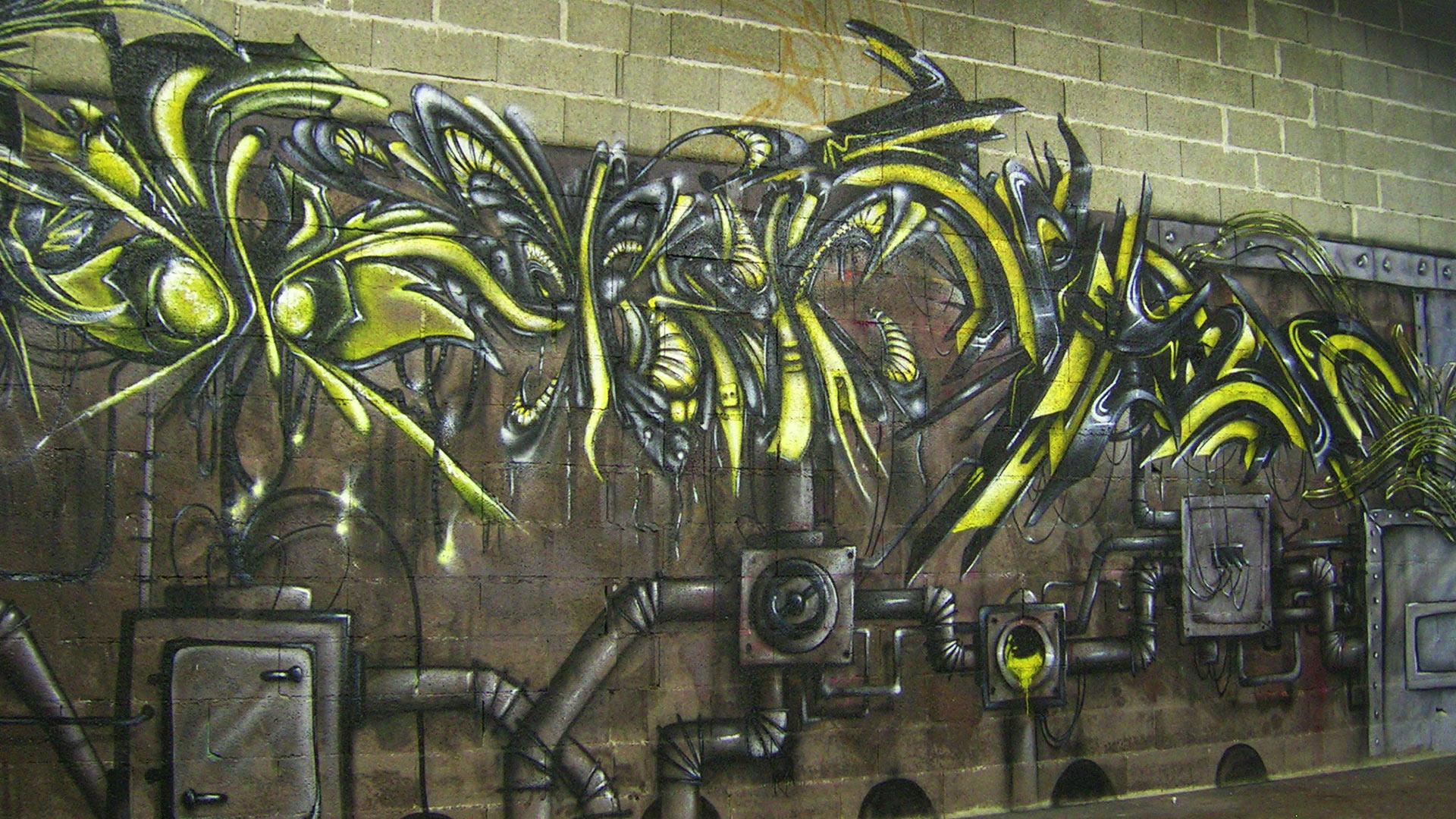 Waro, Deft & Spazm - Graffiti - Toulouse