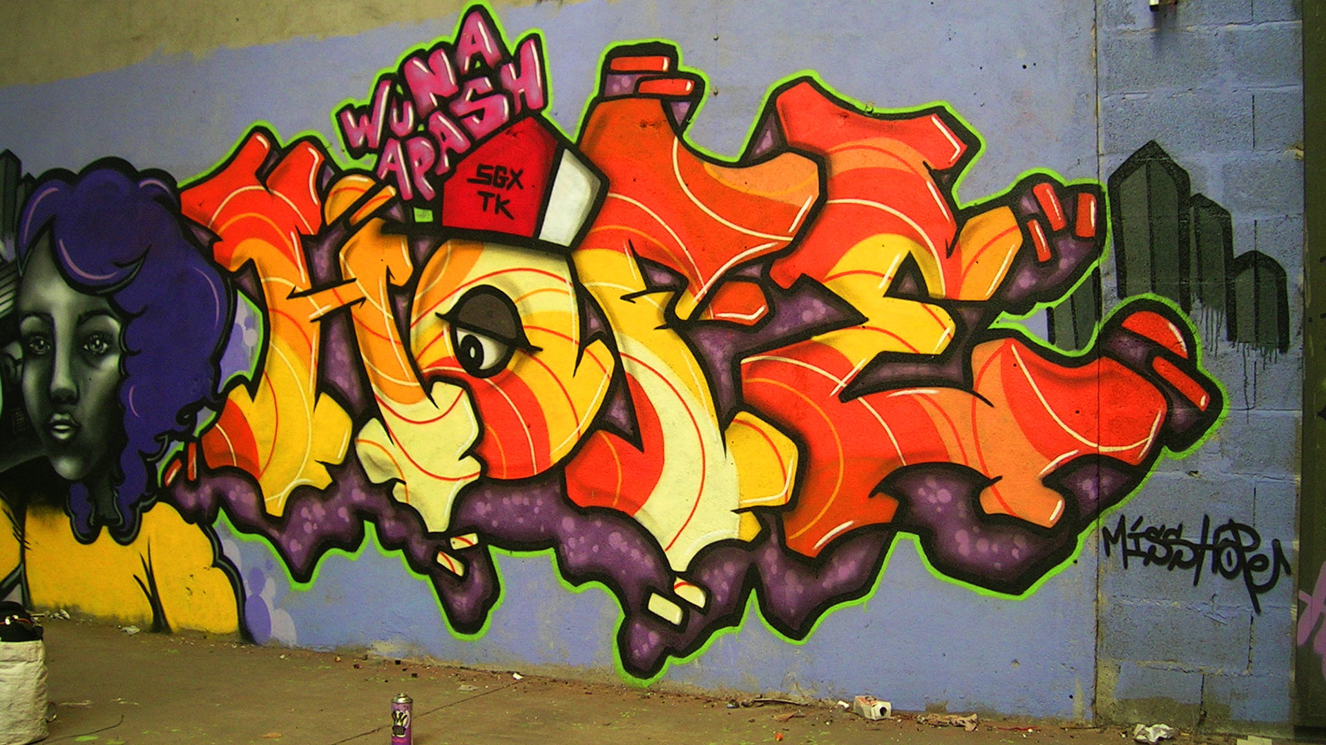 Miss Hope - Graffiti - Toulouse