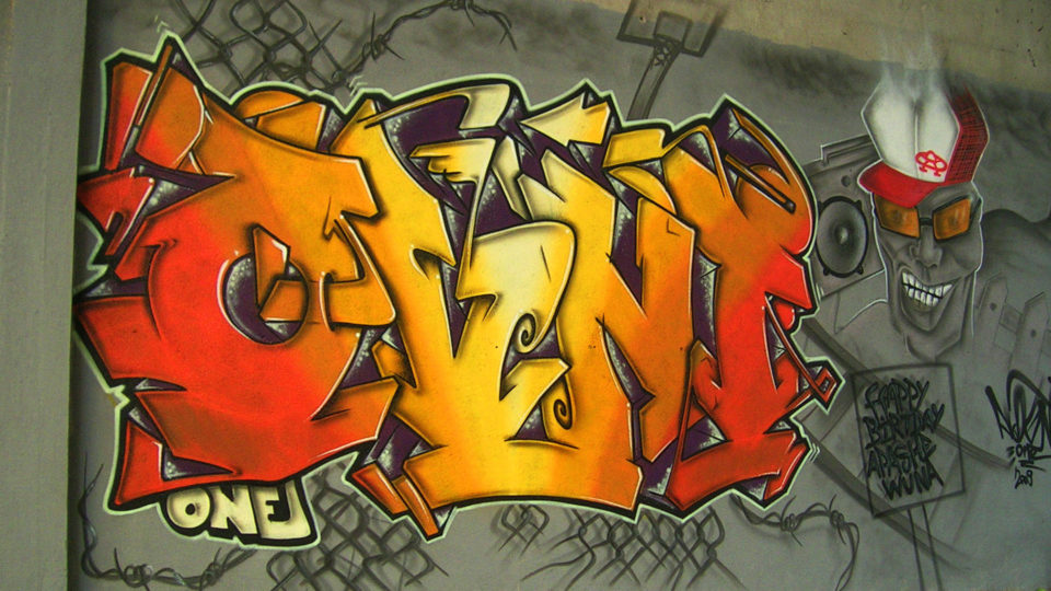 Ovni  - Graffiti - Toulouse