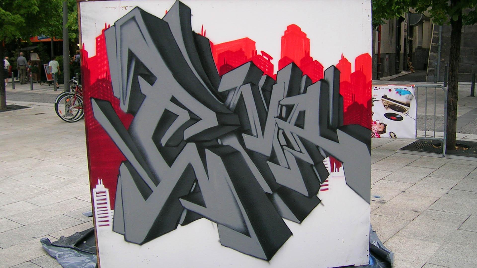 Ema - Graffiti 3D
