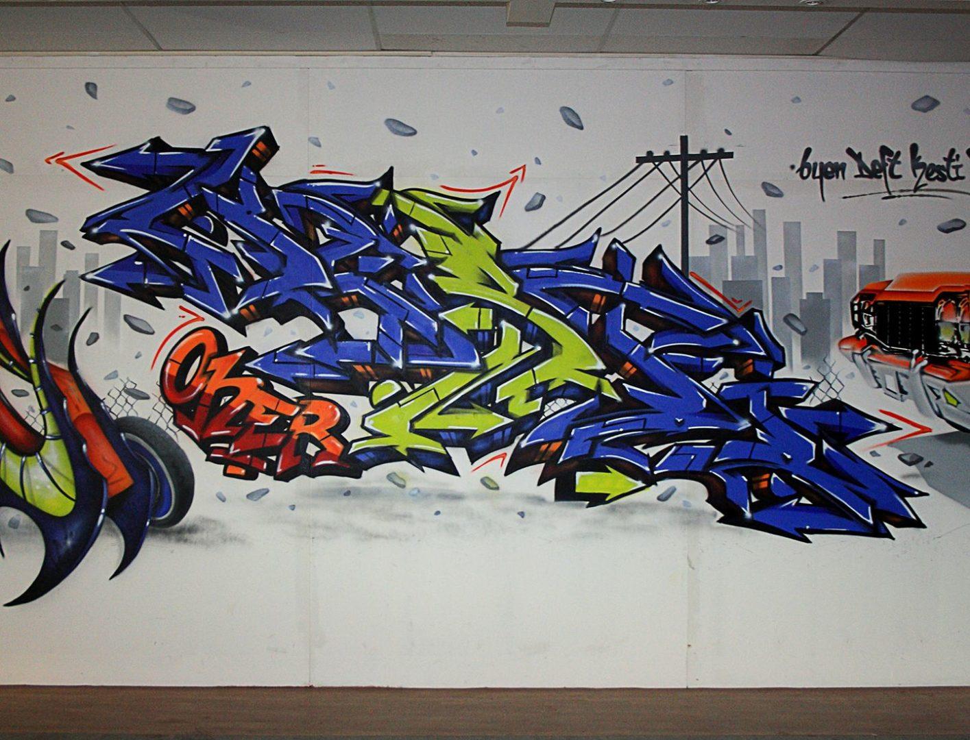 Kesti - graffiti