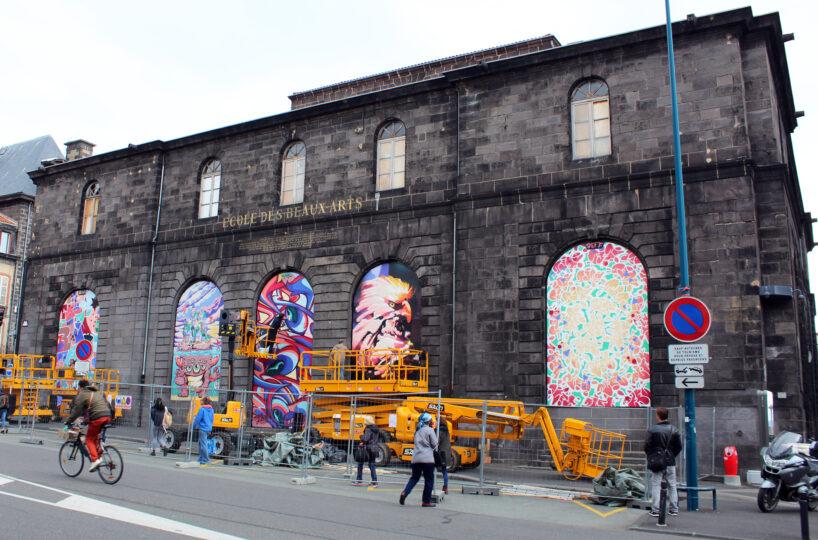 Halles aux blés - Clermont-Ferrand - Street Art
