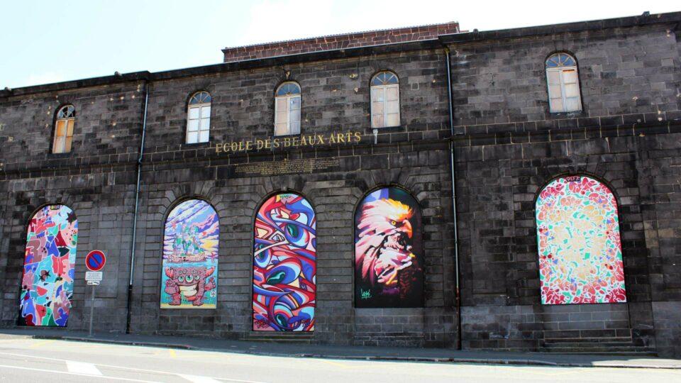 Halle aux Blés - Clermont-Ferrand - Street-art - Graffiti