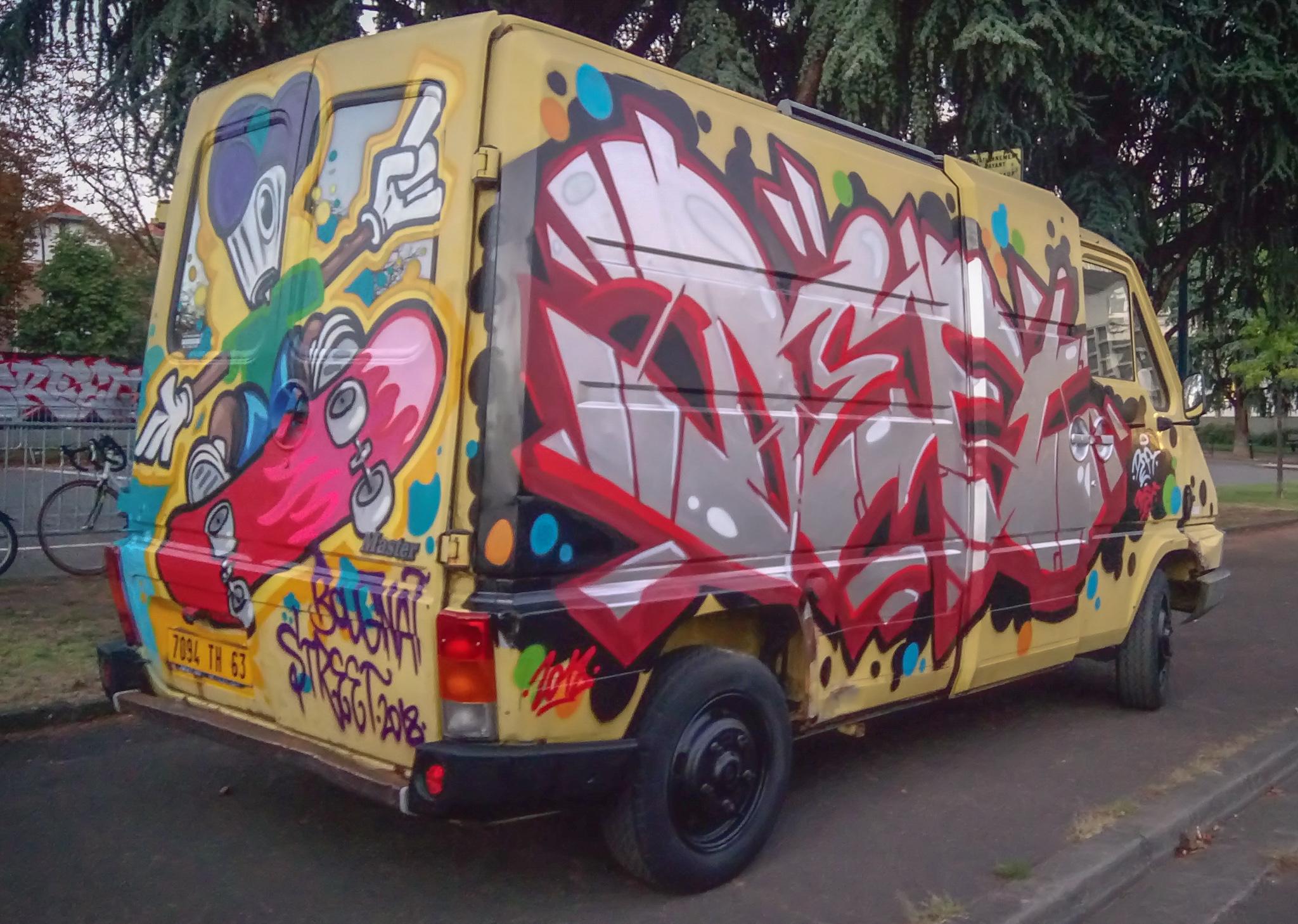 Deft - Bougnat Street Festival - Graffiti