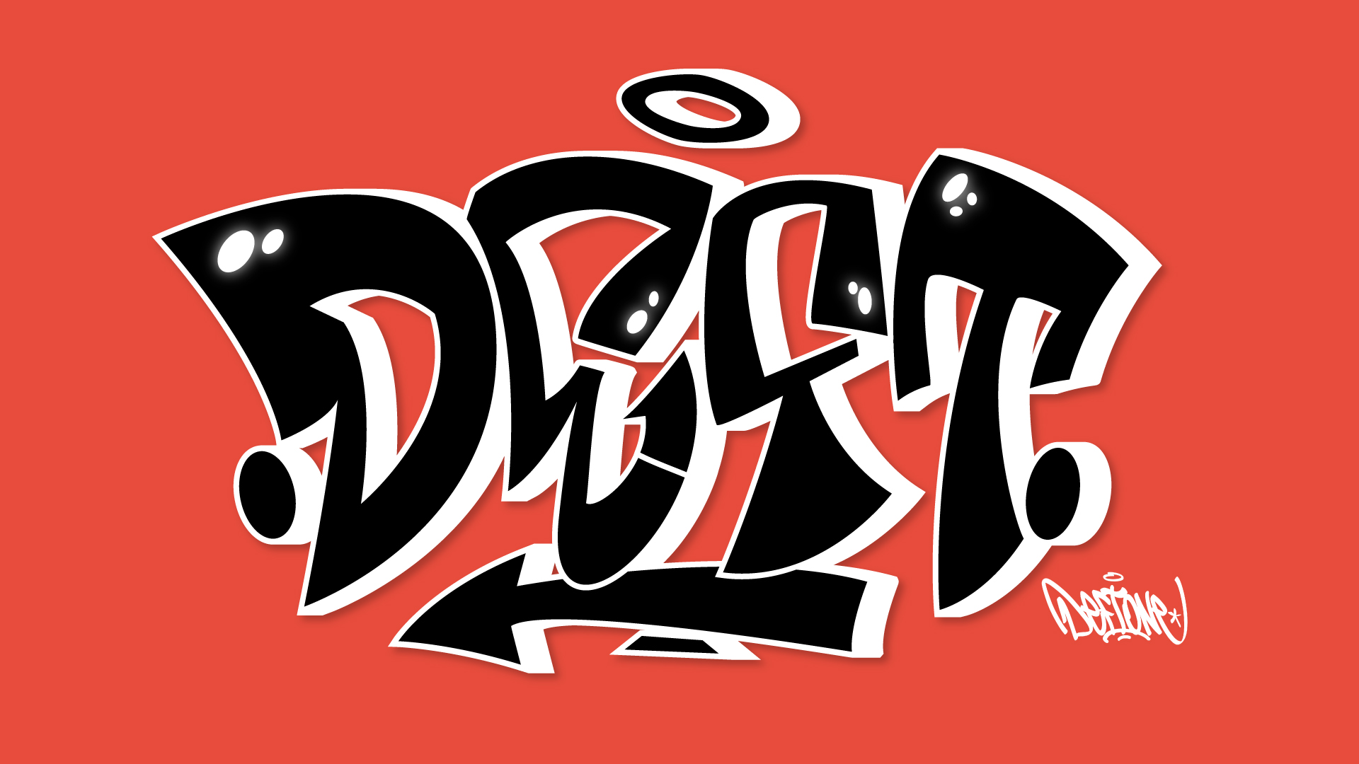 Deft - graffiti -illustrator