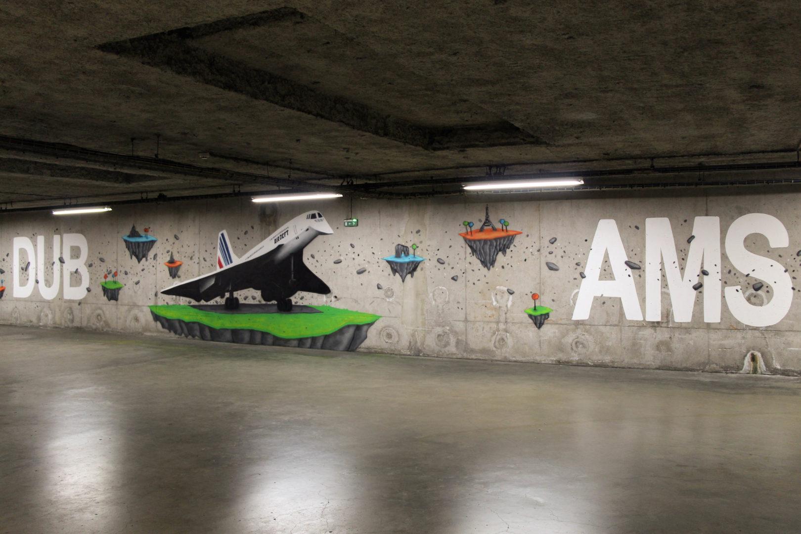 Aéroport-Clermont-Ferrand-Graffiti
