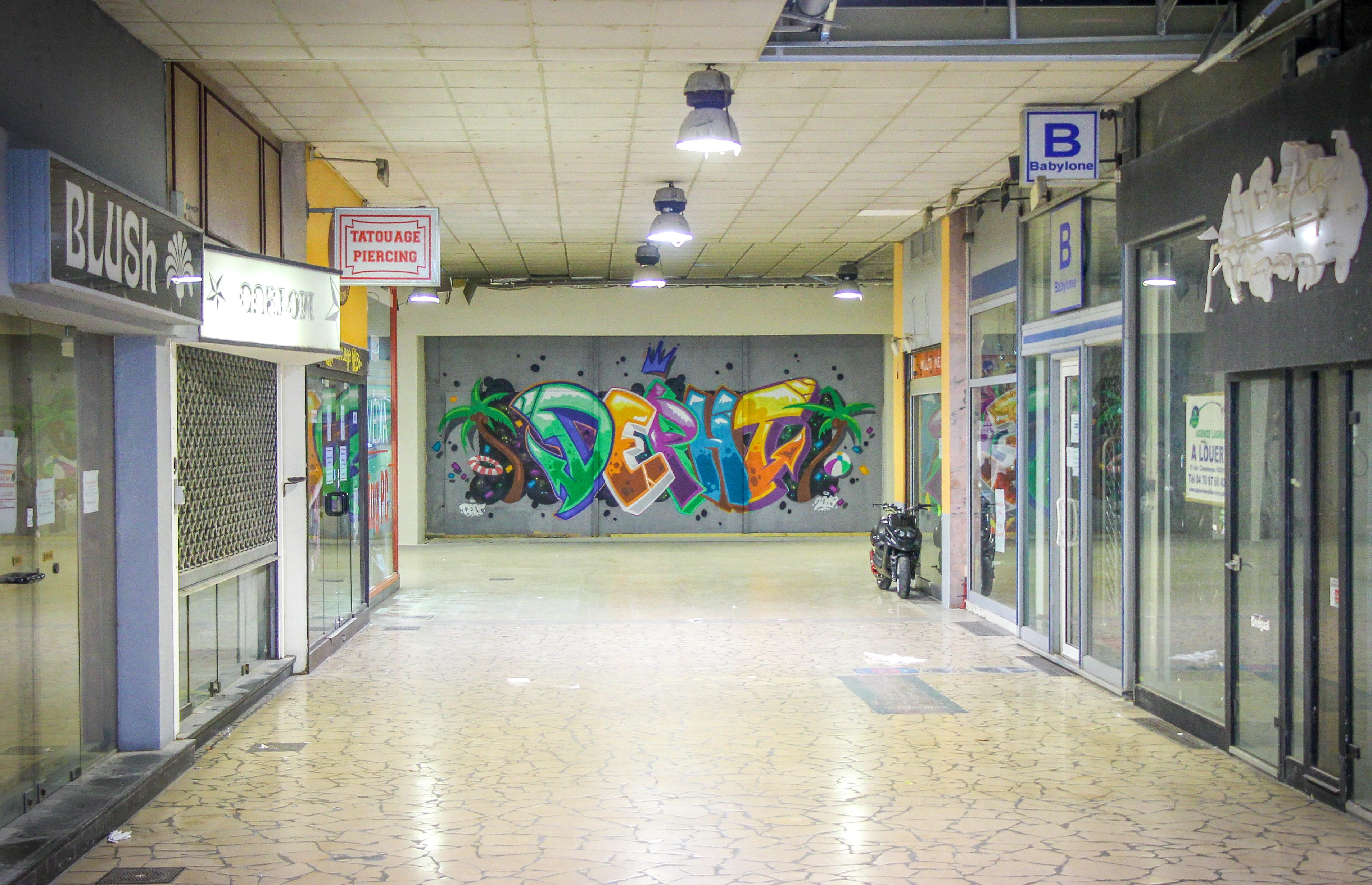 Graffiti Depht - passage de l'Élysée - Vichy