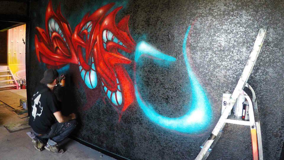 graffiti en 3d deft