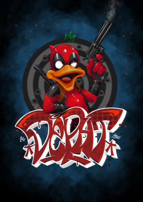 Dead Pool - Howard The Duck - Deft