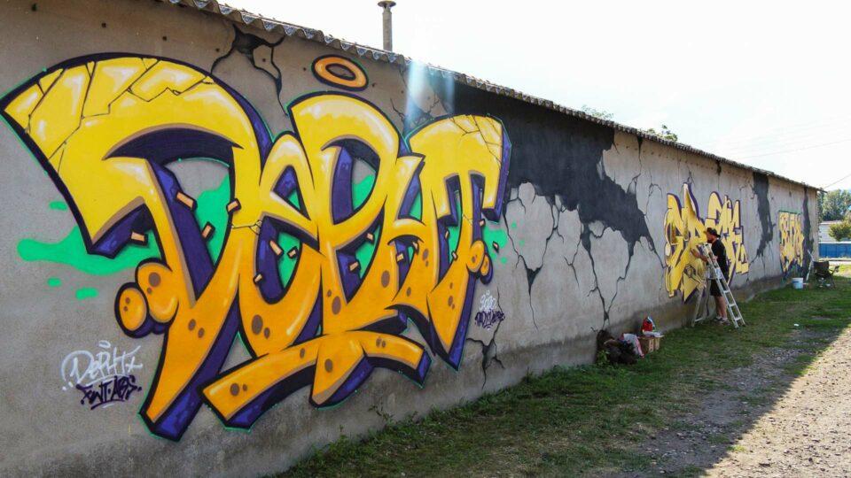 Graffiti Deft - Clermont-Ferrand